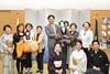 唐津人形浄瑠璃保存会の方々が来庁