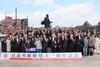 島義勇銅像建立1周年記念祭