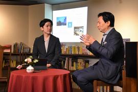 北川社長と意見交換を行いました。